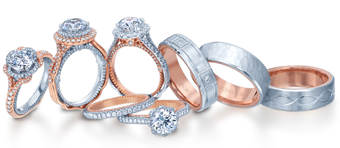 Verragio is THE ONLY bridal designer that allows you to truly personalize your engagement ring and wedding band by creating your vision of what an ...